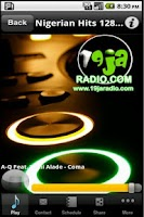 Screenshot of 19jaRadio