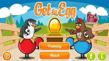 Screenshot of Get the Egg: Foosball (free)