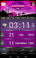 Screenshot of Islamic Calendar (Hijri) Free