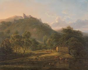 RIJKS: Edouard Delvaux: painting 1828