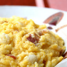 Pancetta and Hominy Polenta Recipe