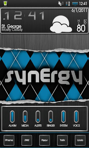 SynErgy CM7+ Donate Theme
