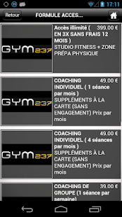 GYM 237 - screenshot