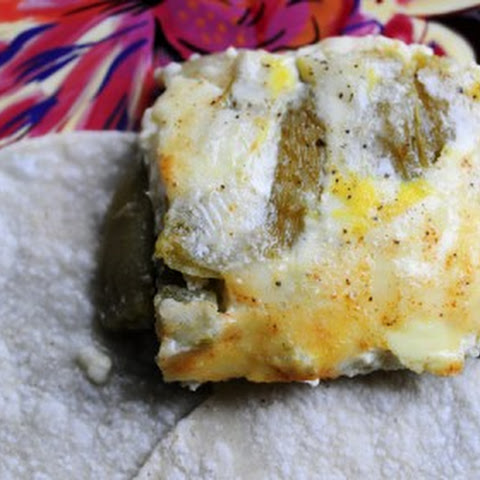 baked chile rellenos with corn and crema recipes dishmaps baked chile ...