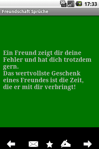 freundschaft-spruche for android screenshot