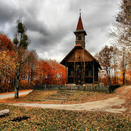 Wooden church by Dalia Kager - Buildings & Architecture Places of Worship