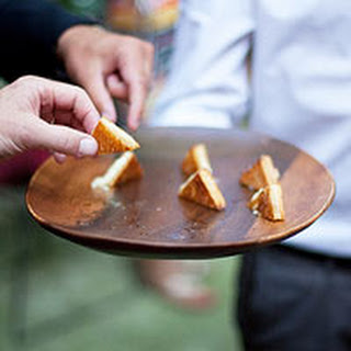 Mini Grilled Cheese with Truffle Honey