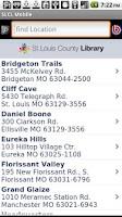 Screenshot of SLCL Mobile