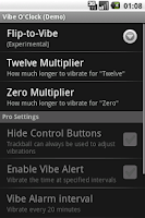 Screenshot of Vibe O'Clock (Free)