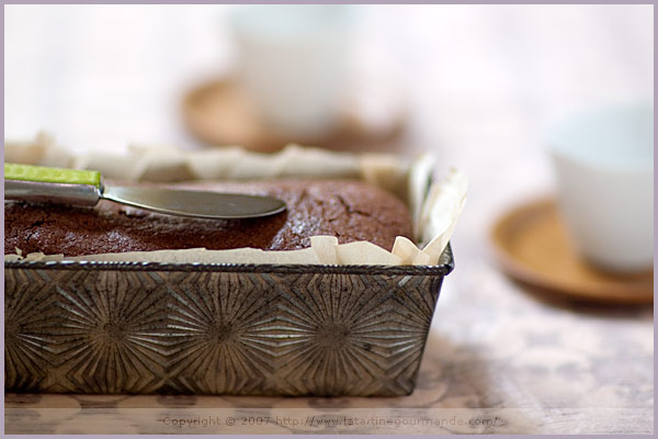 Amaranth, Quinoa and Dark Chocolate Cake