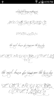 App Fonts for FlipFont Romance APK for Windows Phone