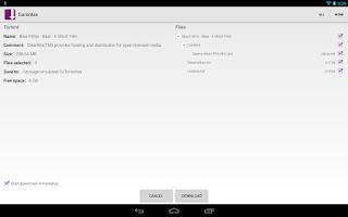 Screenshot of Torrentex - Torrent Downloader