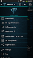 Screenshot of Network Signal Info