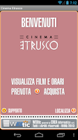 Screenshot of Webtic Etrusco Cinema