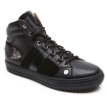 Cesare Paciotti Leather Branded High Top TRAINERS