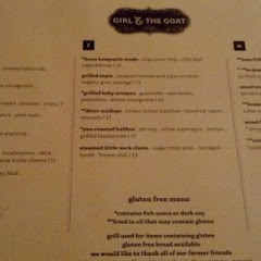 The Girl and the Goat has a decent menu and the server we had was very well informed.