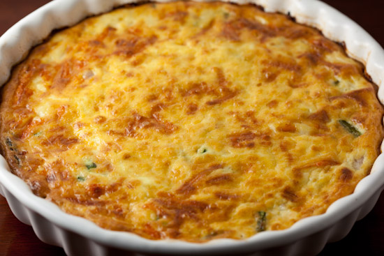 Crustless Quiche with Ham, Asaparagus, and Gruyere Recept   Yummly