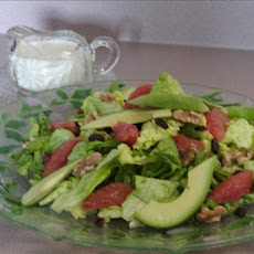 Commander's Palace California Salad With Honey-Yogurt Dressing