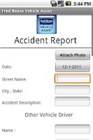 Screenshot of Fred Beans Vehicle Assist