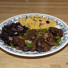 Stir-Fried Chicken Livers China Y Criolla Style