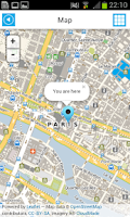Screenshot of Paris Offline Map for Tourists