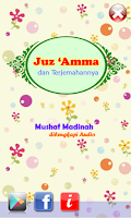 Screenshot of Juz Amma Audio dan Terjemahan