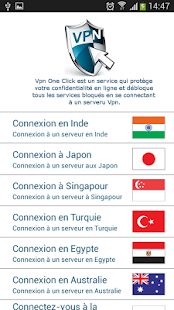Screenshots  Vpn One Click
