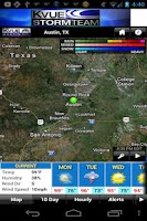 Screenshot of KVUE RADAR