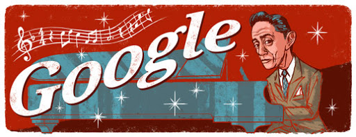 Google Doodle Agustin Lara's 113th Birthday (latam)