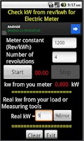 Screenshot of CHECK KWH METER
