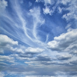 Merry Hill by Roy Branford - Landscapes Cloud Formations ( clouds, sky, artistic, topaz labs, photoshop,  )