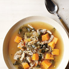 Chicken, Collard Greens, and Sweet Potato Stew