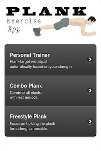 Plank Exercise Workout - screenshot