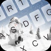 Free Frozen Ice Keyboard Theme APK for Windows 8