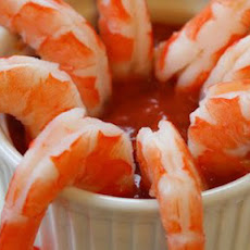 Shrimp Cocktail with Low Sugar Cocktail Sauce