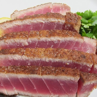 French in a Flash: Moroccan Spiced Seared Rare Tuna