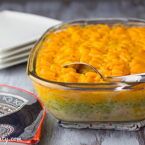 Salmon Fish Pie with Sweet Potato Mash
