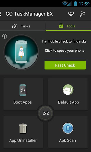 GO Cleaner & Task Manager - screenshot