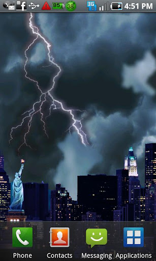 Lightning Live Wallpaper Free
