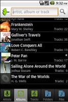Screenshot of Ginkgo Audiobook Player