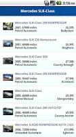 Screenshot of Used Cars NI