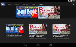 Screenshot of United Brethren Church