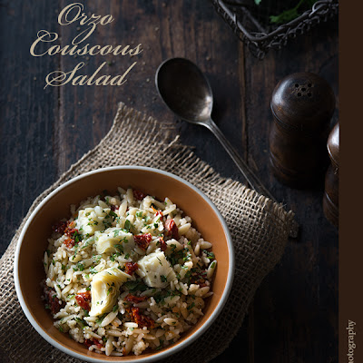 Orzo Couscous Salad