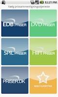 Screenshot of edbpriser.dk