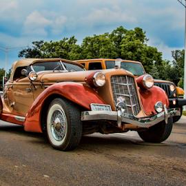 Elegance by Pat Eisenberger - Transportation Automobiles ( car, elegant, automobile, auto, antique )