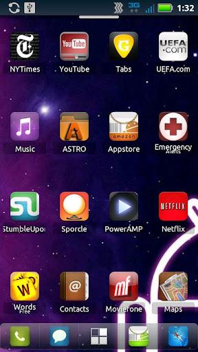 免費個人化App|Droid Genesis Launcher Theme|阿達玩APP