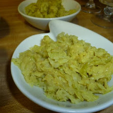 Curried Creamed Cabbage