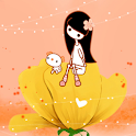 A Flower Cradle LWP full icon