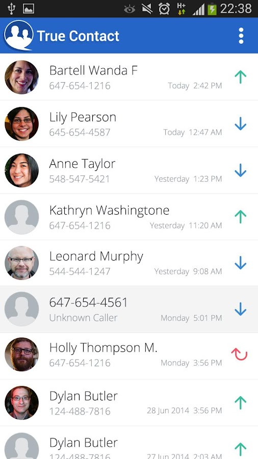 True Contact Pro Screenshot 7
