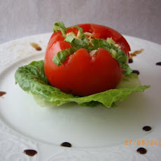 Chicken Salad in Tomato Shells